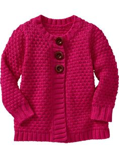 Old Navy   Textured-Knit Button-Front Cardis for Baby