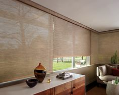 Looking for Hunter Douglas Blinds for your home? Alko Window Coverings offers best services of Hunter Douglas window treatments in Portland & nearby areas. Contemporary Window Treatments, Contemporary Windows, Custom Window Treatments, Contemporary Decor, Hunter Douglas, Luz Natural, Cortinas Screen, Cortina Roller, Tela Solar