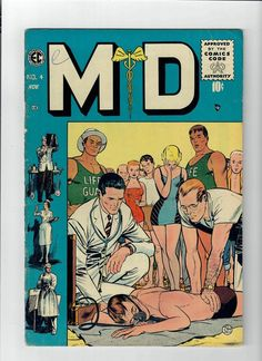 M.D. #4 Gorgeous grade 6.0 Gold Age (1955) find from EC Comics!  http://www.ebay.com/itm/M-D-4-Gorgeous-grade-6-0-Gold-Age-1955-find-from-EC-Comics-/302023156398?roken=cUgayN&soutkn=tqbe3R