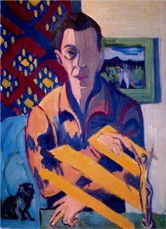 Self-Portrait - Ernst Ludwig Kirchner