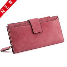 New European Fashion PU Leather Women Wallets Hasp Coin Purse Zipper Wallet Female Purses Designer Wallet Women Luxury Brand