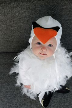 DIY: Swan Halloween Costume