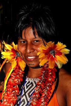 moça Karajá, Tocantins, Brasil