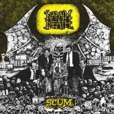 Napalm Death : Scum LP RE