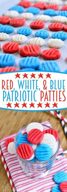 Red, White and Blue Patriotic Peppermint Patties are perfect for the 4th of July and can easily be adapted to work for any holiday!  YOU choose the flavor and the color!