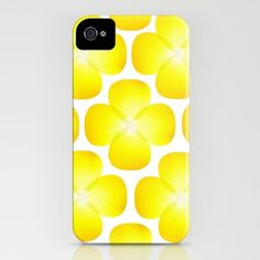 Blossom_Yellow - iPhone Case by Garima Dhawan