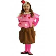This Creamy Cupcake Costume For Girls is just one of our many sweet costumes! | Little Girl Style
