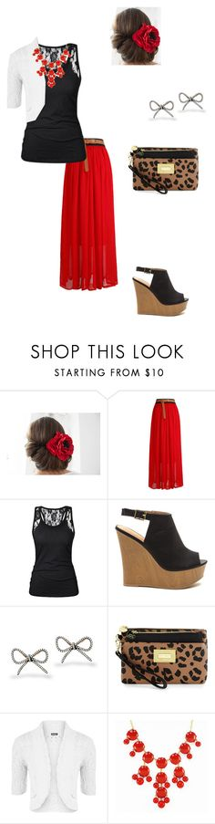 """""""VBS day 2"""" by acousticflute ❤ liked on Polyvore featuring Icz Stonez, Betsey Johnson and WearAll"""