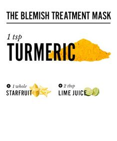 Turmeric Face Masks for the Glowy Skin of Your Dreams