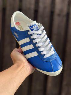 ADIDAS STOCKHOLM 70ER Jahre Sneaker Vintage Schuhe West