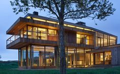 ...---===||===---... #architecture | The big timber riverside ranch house Montana