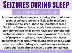 CURE I've had only 2 day time seizures but every other one has been a nocturnal seizure Epilepsy Facts, Epilepsy Quotes, Epilepsy Types, Epilepsy Awareness Month, Epilepsy Tattoo, Temporal Lobe Epilepsy, Epilepsy Seizure, Epilepsy Symptoms, Seizure Disorder