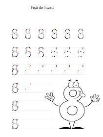Lumea lui Scolarel...: Cifre punctate Math Equations, Words, Numbers, Ideas, Numeracy