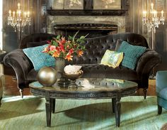 """A captivating yet conscientious choice, this timeless collection makes """"going green"""" a thoroughly agreeable proposition while inspiring your space with an air of sophistication."""