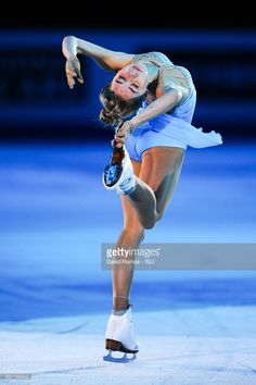 Elena Radionova of Russia performs at an exhibiton gala on day 4 of the ISU Junior & Senior Grand Prix of Figure Skating Final 2015/2016 at the Barcelona International Convention Centre on December 13, 2015 in Barcelona, Spain .