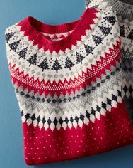Forest Fair Isle Sweater