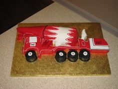 3d concrete truck for my husband