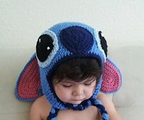 Ravelry: Disney Inspired Lilo and Stitch Beanie Pattern (with pictures) pattern by Evangeline Barraza
