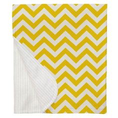 Yellow Zig Zag Crib Blanket made with care in the USA by Carousel Designs. Yellow Nursery, Free Fabric Swatches, Carousel Designs, Crib Blanket, Repeating Patterns, Zig Zag, Snug, Cribs, Cots