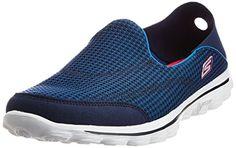 Skechers Go Walk 2 Convertible, Baskets mode femme