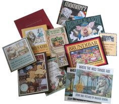 (Julian Hector) This is my Maurice Sendak collection. The most glaring omission, I think, is 'Higglety Pigglety Pop!' and I would love to have a copy of 'Hector Protector and as I Went Over the Water.' I was a huge fan, and as a gay, jewish, picture book author/illustrator, It was always reassuring to know that we were similar in some way. Rest in peace, Maurice Sendak.
