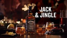 Enjoy a drink that's more fun that a one-horse open sleigh. Combine 1 oz of Jack Daniel's®, 5 oz of Winter Spiced Cranberry Sprite®, oz of Aperol®, and a splash of cranberry juice. Then, enjoy with friends and family Party Drinks, Cocktail Drinks, Fun Drinks, Yummy Drinks, Cocktail Recipes, Alcoholic Drinks, Bourbon Drinks, Beverages, Christmas Drinks