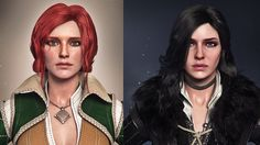 The Witcher's Ladies WIP by AnubisDHL