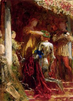 Victory_A_Knight_Being_Crowned_With_A_Laurel_Wreath Dicksee