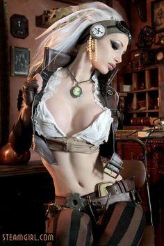 #Scifidelic Steamgirl by Kato http://woodworkcontractorindelhi.wordpress.com/ http://woodworkcontractorsindelhi.blogspot.com/