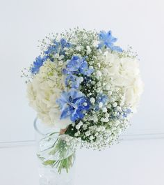 #VressetRose #Wedding #blue #purple #Bouquet #natural #Autumn #Vintage #Flower #Bridal # ブレスエットロゼ #ウエディング #ブルー #パープル# ブーケ #ラウンドブーケ#アジサイ#カスミ草#デルフィニューム#ビンテージ#ナチュラル #結婚式 Bridal Bouquet Blue, Bride Bouquets, Flower Bouquet Wedding, Floral Bouquets, Wedding Flower Arrangements, Floral Arrangements, Wedding Themes, Wedding Venues, May Weddings
