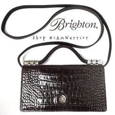 NWOT Brighton small brown purse wallet Never used! Super cute Brighton purse. Have a few minor scratches on front as shown. ❗️️Please read my '1st time here' listing (top of closet) before making an offer. Brighton Bags