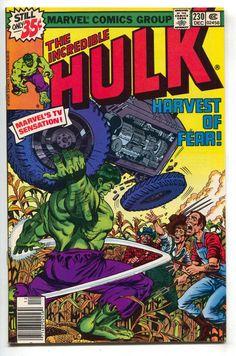 Incredible Hulk 230 Marvel 1978 NM- Bob Layton Tractor Farmers Corn