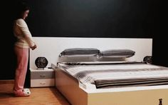DESIGN- IN SPAGNA NASCE IL LETTO CHE SI RIFA' DA SOLO Ohea il primo letto intelligente al mondo è stato inventato in Spagna. Da un'operaio metalmeccanico che gli ha dedicato solo i ritagli di tempo. Alla fine, comunque, l'invenzione è stata brevettata.  #design #artigianato #spagna