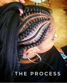 #FeederBraids are not all done the same! Prep yours with #mytropicalroots! #braidstyles #braidsatlanta #hairtutorial #cornrows #stitchbraids