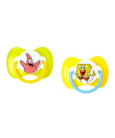 Look at this SpongeBob SquarePants Pacifier - Set of Two on #zulily today!