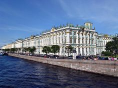 The Hermitage, St. Petersburg (formerly Leningrad), Russia.  Remarkable
