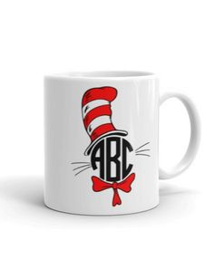 Personalized Dr. Seuss Monogrammed Coffee Cup/Mug – Best Seller