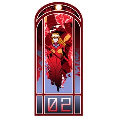 """TODAY'S TEE: Evangelion in Art Nouveau style! """"Eva Nouveau 02""""! Designed by AriesNamarie. 3 shirt colors. $11 only! For 24 hours! www.unamee.com."""