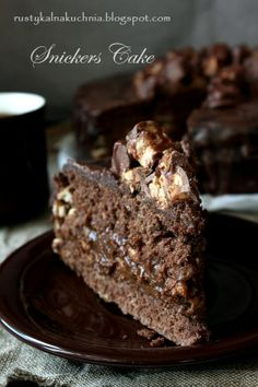 rustykalna kuchnia - cooking at home: Ciasto Snickers