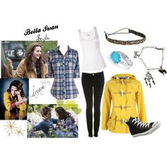 Bella Swan Style-Twilight, created by meggie-lair on Polyvore...love the plaid shirt!