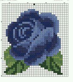 Make a black rose for matt Cross Stitch Cards, Cross Stitch Rose, Cross Stitch Flowers, Cross Stitching, Cross Stitch Embroidery, Embroidery Patterns, Cross Stitch Designs, Cross Stitch Patterns, Bordado Tipo Chicken Scratch