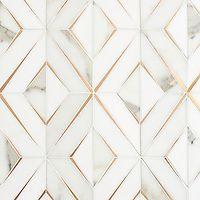 Stefanie Hauer Design New Ravenna Marble Wall, Marble Mosaic, Stone Mosaic, Mosaic Tiles, Mosaics, New Ravenna, Decorative Wall Tiles, Calacatta Gold, Wall And Floor Tiles