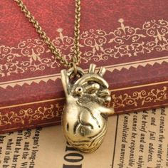 Anatomical heart necklace Brand new in original packaging . Bundle and save Jewelry Necklaces