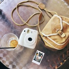 Instax Mini 8 on the go! Loving this shot by Mary O Photo | #instax