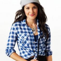 AE PLAID SHIRT   $19.99  STYLE: 1354-5547   COLOR: 400 Go for prep. Shop the AE Plaid Shirt from American Eagle Outfitters. Check out the entire American Eagle ...