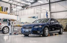 Time to get started on this Audi S4 that's in for a Full Detail!  From our most basic reconditioning package, to concours-level paint correction, vehicle wraps, and more, NWAS has you covered. #automotive #detail #BOWW #ProgressIs Audi USA #S4