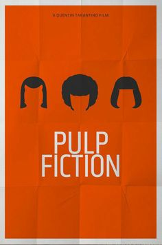 Cool Minimal Movie posters pulp fiction
