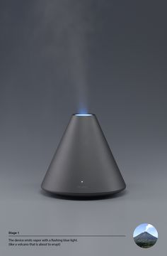 Volcano Series / Humidifier by Dae-hoo Kim, via Behance