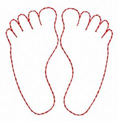 Foot printable (just save to desktop and then make them bigger on Word doc): K Crafts, Plate Crafts, Bible Crafts, Preschool Crafts, Crafts For Kids, Preschool Door, Preschool Christmas, Sunday School Crafts, School Fun