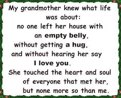 Both my grandmothers were amazing women